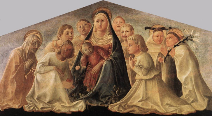 Fra Filippo Lippi. Our Lady Of Humility
