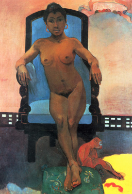 Paul Gauguin. Anah from the island of Java