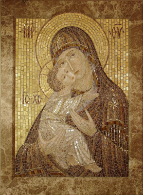 "Aleksei Zagorskij. ""Our Lady Of Vladimir"""