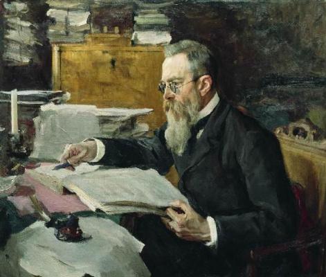 Валентин Александрович Серов. Николай Андреевич Римский-Корсаков