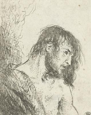Jan Livens. Bust a half-naked young men