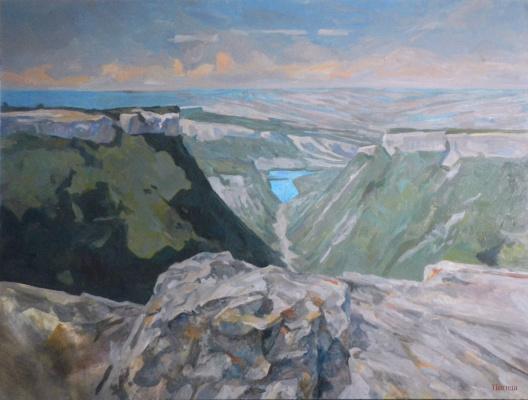 Serafima Mikhailovna Pigida. Mountain Lake