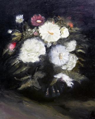 Сергей Николаевич Ходоренко-Затонский. Still-life with flowers