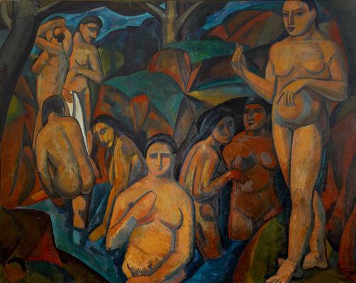 Andre Derain. Large bathers