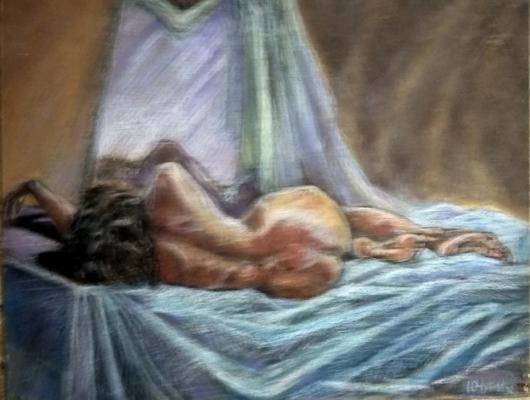 Yuri Valeryevich Churilov. Sleeping