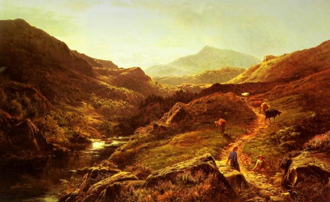 Сидни Ричард Перси. Солнечный свет