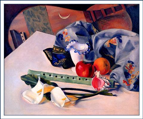 Стэнтон Макдональд. Натюрморт с белыми цветами
