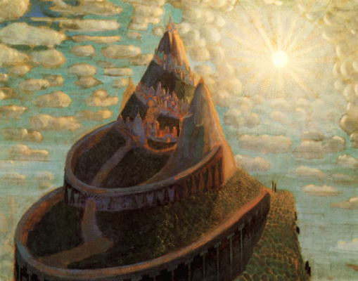 Mikalojus Konstantinas Ciurlionis. The tale of the castle