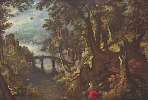 Гиллис ван Конинксло. Ворон, кормящий пророка Илию