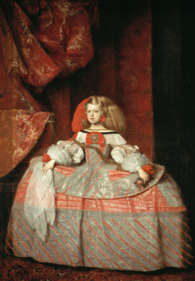 Juan Batista Martinez del Maso. Portrait of the Infanta Margarita in childhood
