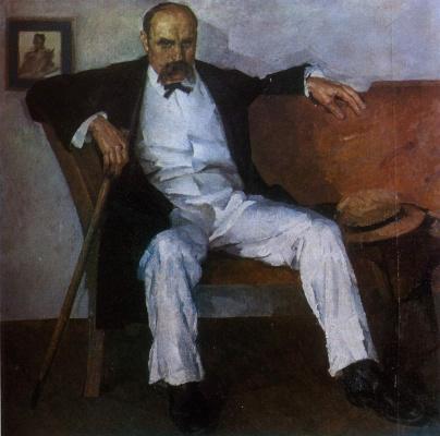 Fedor Grigorievich Krichevsky. Portrait T.G. Shevchenko