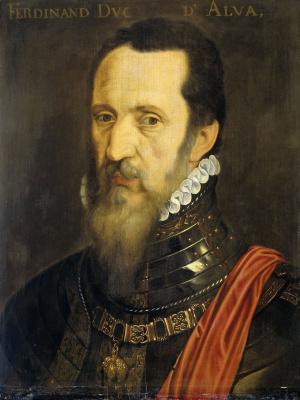 Адриан Томас Кей. Портрет Фернандо Альвареса де Толедо, герцога Альба (копия)