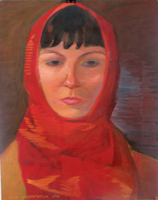 Stas Sergeevich Volostnykh. Portrait of a young woman