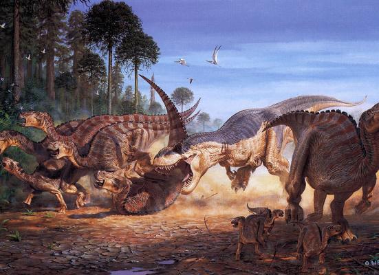 Павел Боннер. Динозавры