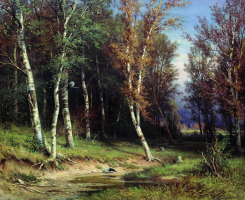 Ivan Ivanovich Shishkin. Forest before the storm