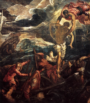 Jacopo (Robusti) Tintoretto. Saint Mark saves a Saracen shipwreck