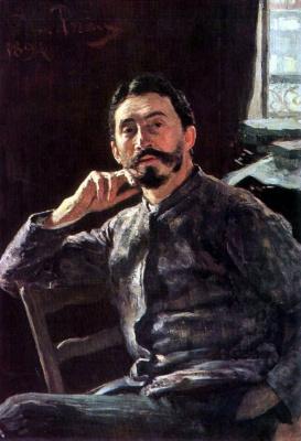 Илья Ефимович Репин. Автопортрет