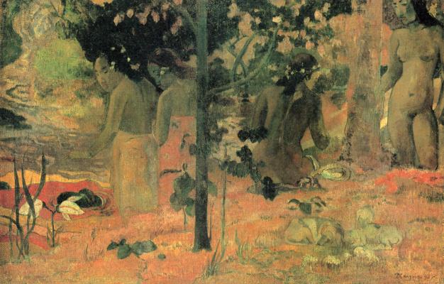 Paul Gauguin. Bathers