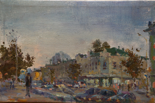 Vera Marueva. City landscape