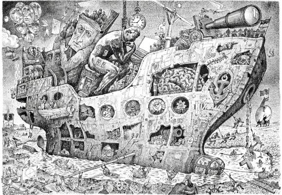 Igor Alekseevich Smirnov-Sardanovsky. Ship of fools