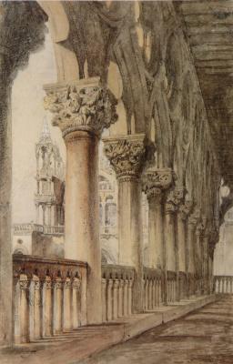 Джон Рёскин. Герцогский дворец, лоджия эпохи Возрождения