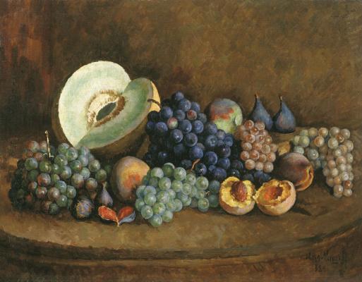 Ilya Ivanovich Mashkov. Still life