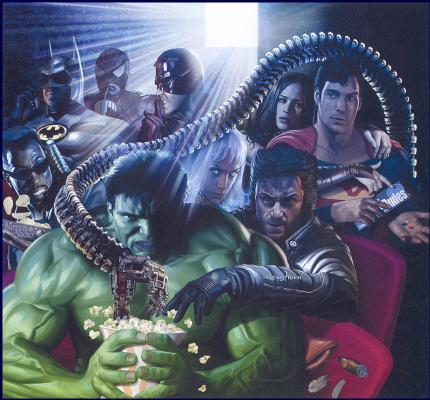 Грег Хорн. Супергеройское кино