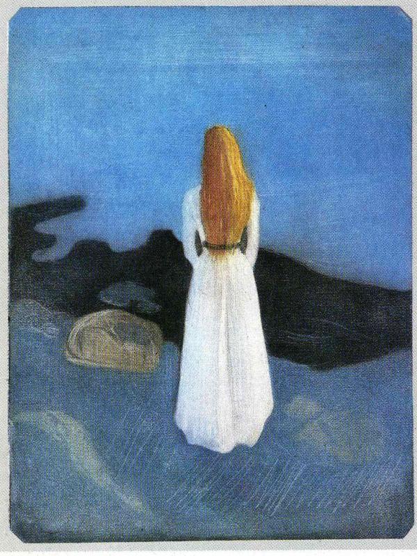 Эдвард Мунк. Девушка на берегу