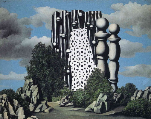 René Magritte. The Annunciation