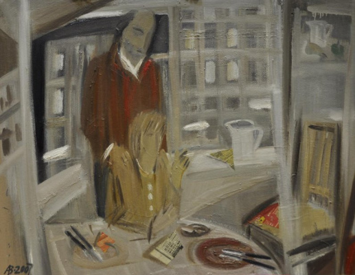 Andrei Vladimirovich Vetrogonsky. Unfinished dinner