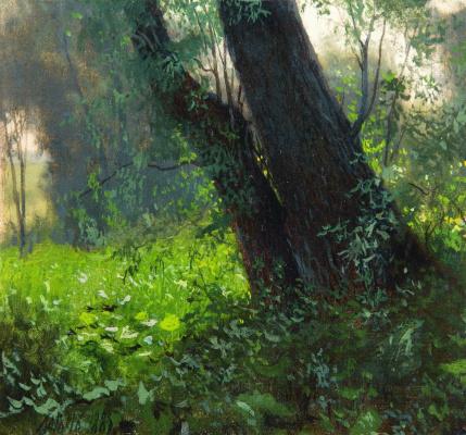 Lev Feliksovich Lagorio. Trees