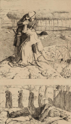 "William Holman Hunt. ""Origin"". Frontispiece"