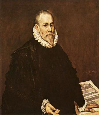 Domenico Theotokopoulos (El Greco). Portrait of doctor