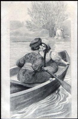 Сергей Сергеевич Соломко. Пара в лодке