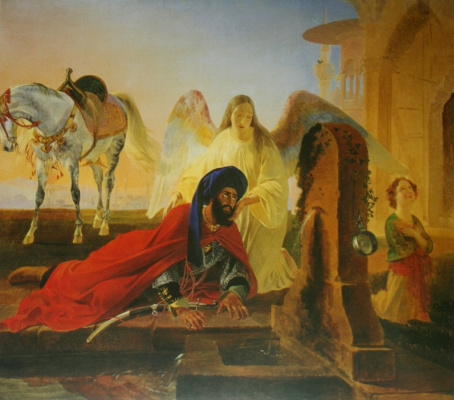 Karl Pavlovich Bryullov. Peri and the angel