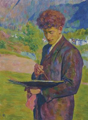 Giovanni Giacometti. The Artist (Portrait Of Alberto Giacometti)