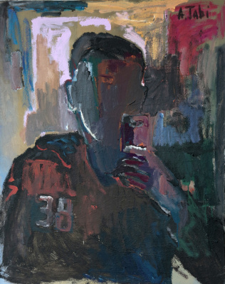 "Азат Табиев. ""Автопортрет. 38 лет"""