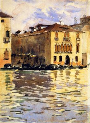 Джон Сингер Сарджент. Палаццо Фоскари. Венеция