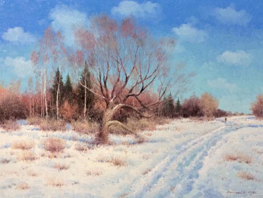 Vasily Ivanovich Gribennikov. Freezing day