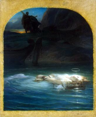 Поль Деларош. Христианская мученица
