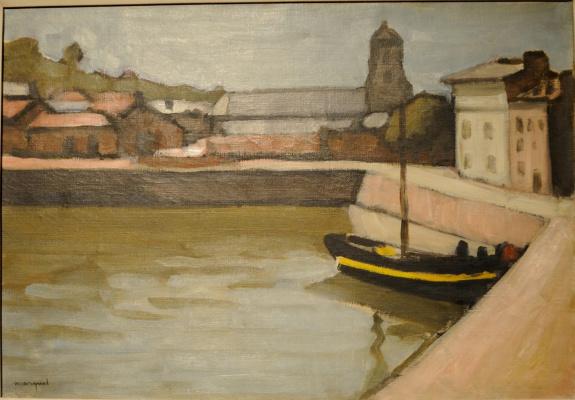 Albert Marquet. Honfleur. The harbour.