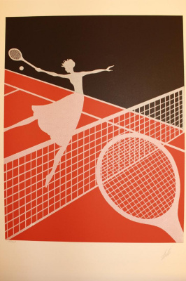 Romain Tirtoff. Tennis (Love)
