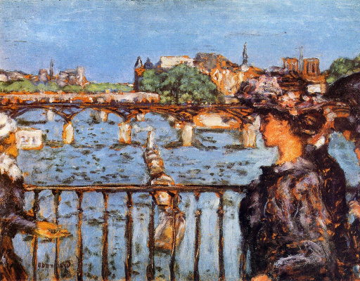Pierre Bonnard. The Pont des arts