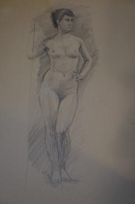 Alexandra Antonovna Gladun. Nude nature