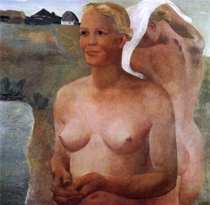 Alexander Alexandrovich Deineka. Bathing girls