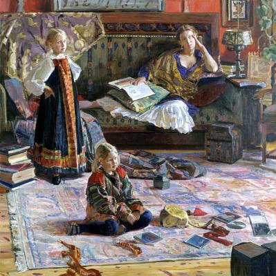 Ivan Glazunov. The artist's family