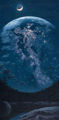 Роб Гонсалвес. Ночные огни