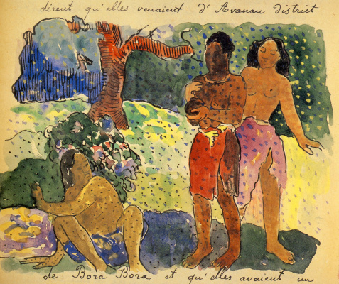 Paul Gauguin. The Messengers Of Oro