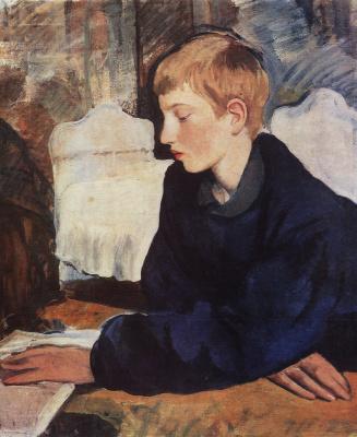 Зинаида Евгеньевна Серебрякова. Женя (Портрет сына художницы)