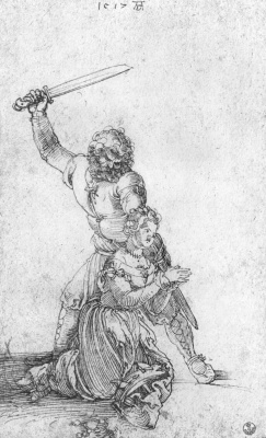 Albrecht Durer. St. Catherine and executioner